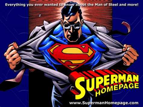 superman homepage superman homepage wallpaper wallpapersafari
