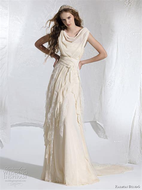 draped wedding dress raimon bund 243 wedding dresses 2011 wedding inspirasi