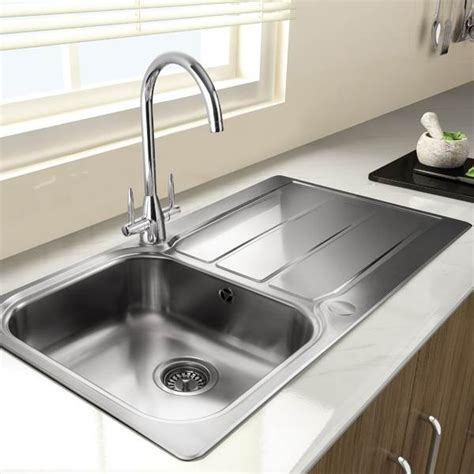 leisure glendale 1 bowl sink sinks kitchen accessories leisure glendale 1 bowl sink manningham concrete