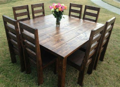 square kitchen table for 8 25 best ideas about square tables on diy