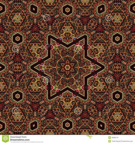 art pattern maker seamless khayameya pattern design 037 stock photo image