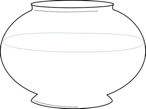 fish bowl template printable free 28 images template