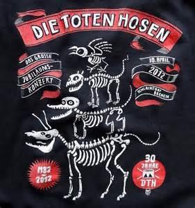 Shirt zum jubil 228 umskonzert der toten hosen in bremen