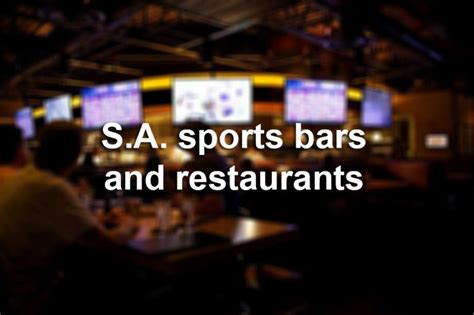 Top Bars In San Antonio by Best Bars And San Antonio Restaurants To The Spurs