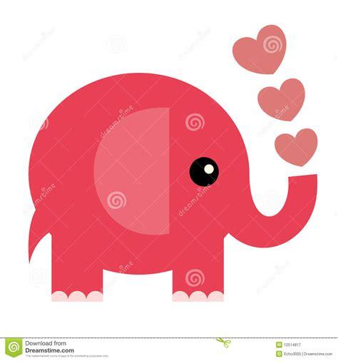 Vector Valentine Card(elephant) Stock Vector - Image: 12514817