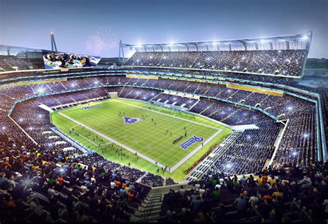 Stadium Plan new st louis stadium plans unveiled football stadium digest