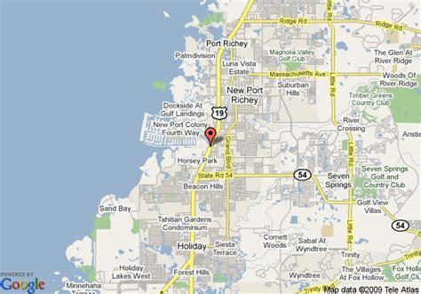 map of ramada inn bayside new port richey