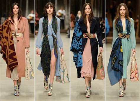 themes for clothing collection london fashion week burberry ideas outfit4girls com