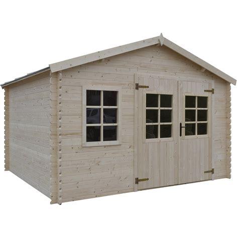 cabane de jardin en bois leroy merlin abri bois montlieu 8 88 m 178 ep 28 mm leroy merlin