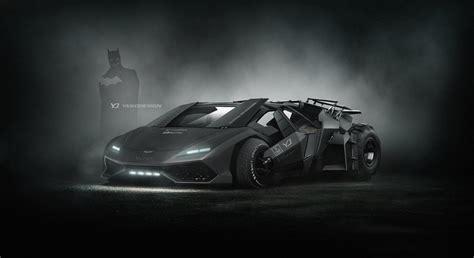 Batmobile Lamborghini Nolan S Tumbler Meets Lamborghini Huracan Looks Properly