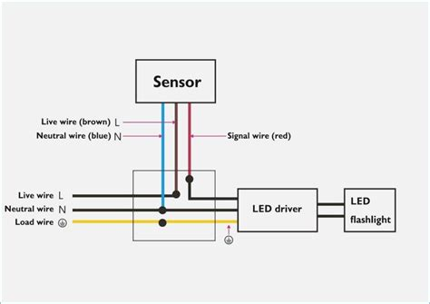 hubbell motion sensor light switch diagram wiring