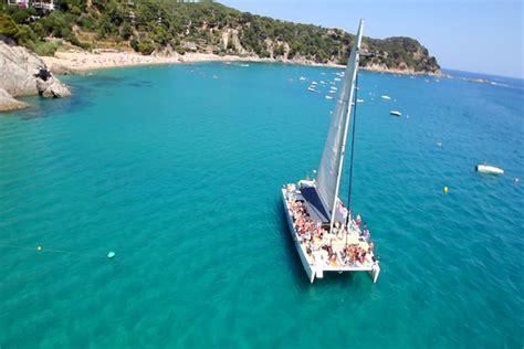 catamaran trips in barcelona barcelona sensation catamaran
