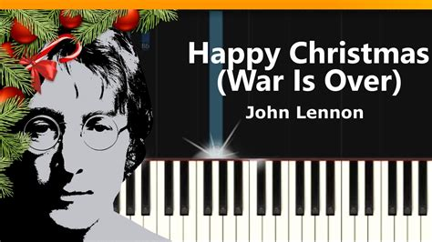 tutorial war is over john lennon quot merry xmas war is over quot piano tutorial