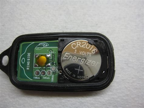 toyota key fob battery replacement guide 107