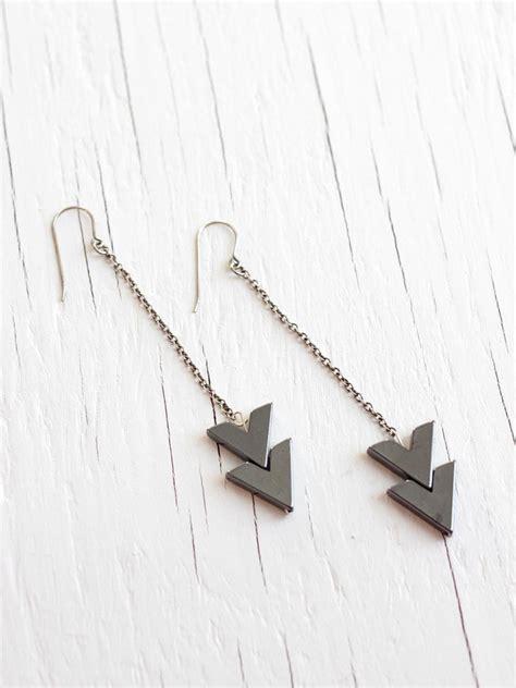 Sterling Silver Arrow Earring arrow earrings on sterling silver chain a common thread