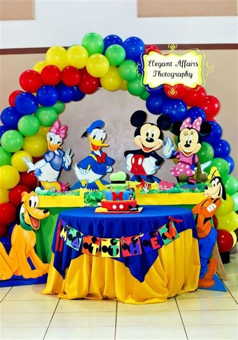 Mickey Mouse Clubhouse 1st Birthday Decorations by Mickey Mouse Clubhouse Birthday Ideas