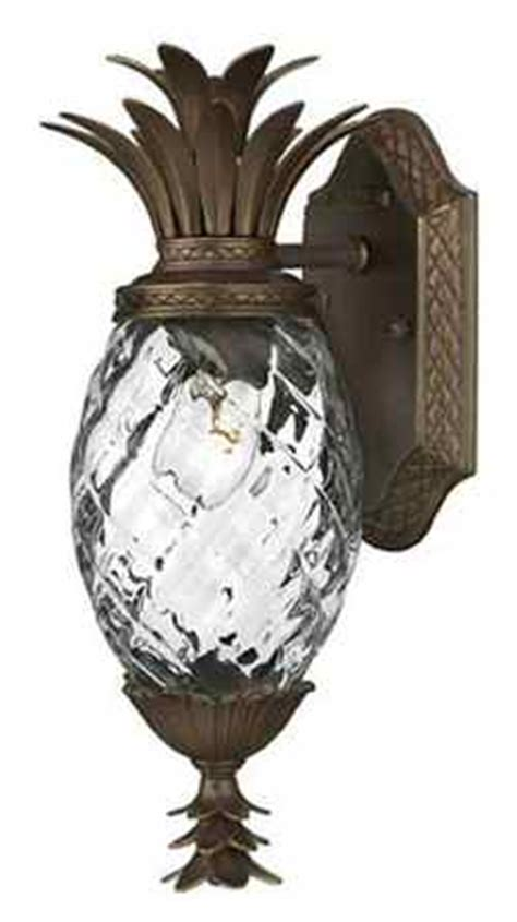 Pineapple Outdoor Light Fixtures Outdoor Lighting Pineapple Porch Light House Web