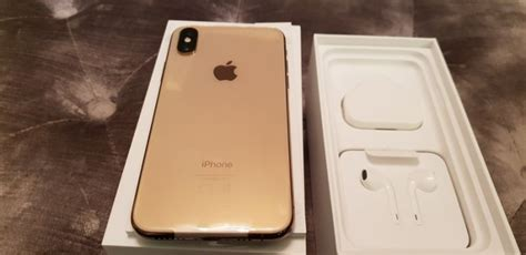 apple iphone xs max gold 64gb for sale in citywest dublin from fortuner01