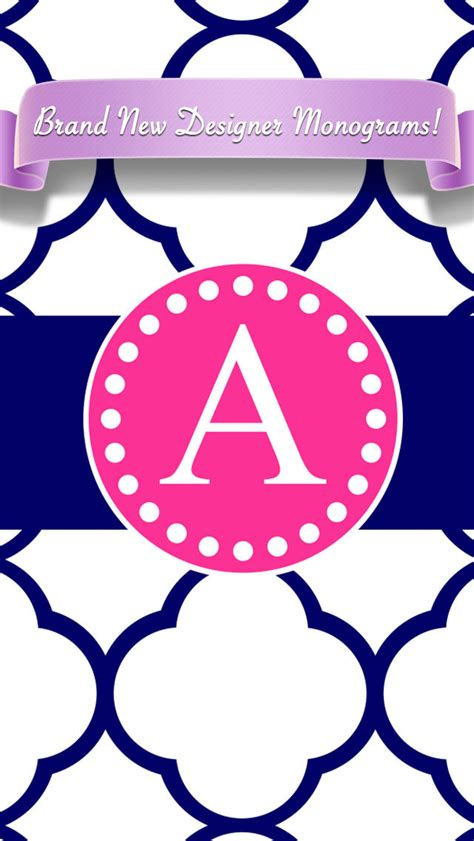 create a monogram wallpaper video search engine at app shopper designer monogram custom wallpaper