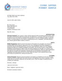 cover letter 50 proper letter formats sle of a formal