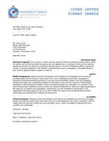 Proper Resume Cover Letter by Letters Formats Sles Thebridgesummit Co