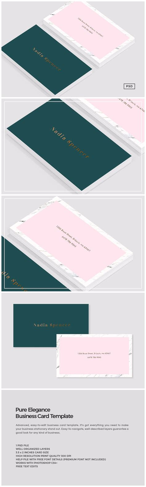 all card template elegance business card template business card