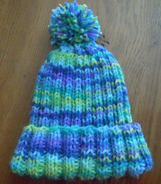 knitting pattern for child s hat rib knit hat knitting pattern child s size