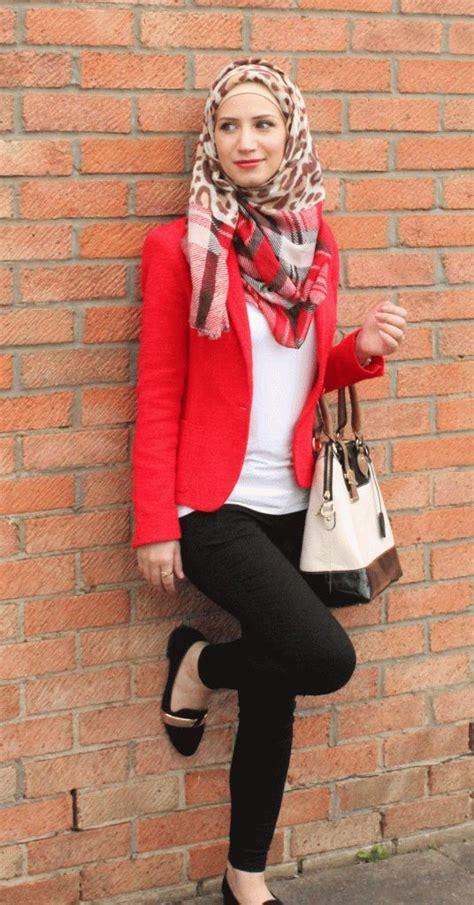 Blazer Muslimah Muslimah Fashion Style I Style