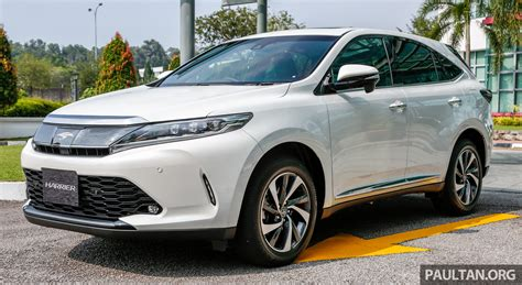 Toyota Harrier 2 0 图集 大马版 2018 toyota harrier 2 0t luxury 实车照 paul 汽车资讯网