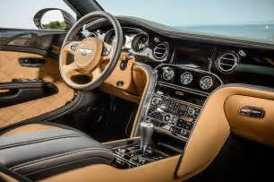 Bentley Mullsane 2015 Bentley Mulsanne Speed Interior Photo 17