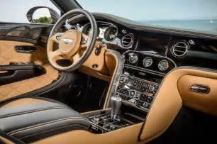 Bentley Mulsanne Interior Pictures 2015 Bentley Mulsanne Speed Interior Photo 17