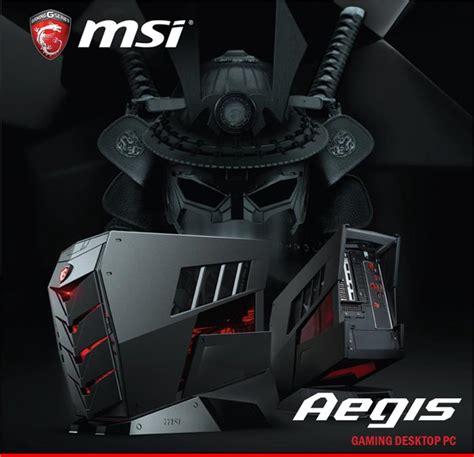Desktop Msi Aegis By Pemmz Gadget msi lancia aegis pc desktop compatto con componenti di