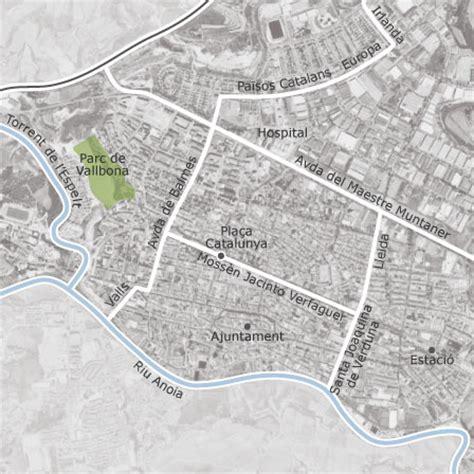 mapa de igualada barcelona idealista