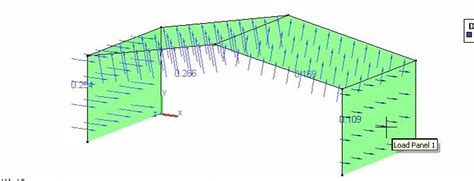 portal frame design using staad pro applying uplift wind loads in staad pro ram staad