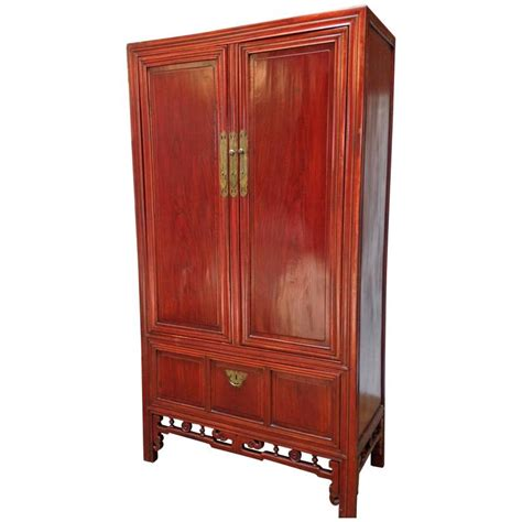cabinet armoire large chinese two door armoire cabinet for sale at 1stdibs