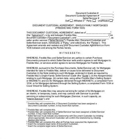 child custody agreement template custody agreement template 10 free word pdf document