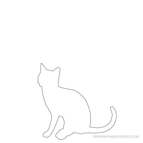 Cat Stencil Printable printable cat stencil designs free printable stencils