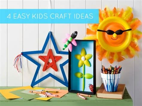easy summer craft ideas for 4 easy craft ideas for summer classroom or c