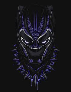 Tshirt Black Panther Hitam minimalist of marvel s black panther marvel fan