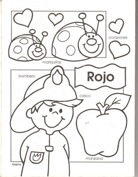 Spanish Family Coloring Page | pre k worksheets in spanish free spanish worksheets for