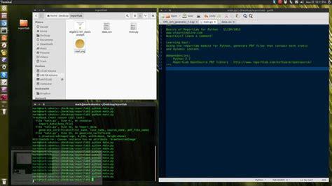 tutorial of python pdf basics of using reportlab with python to create pdf files