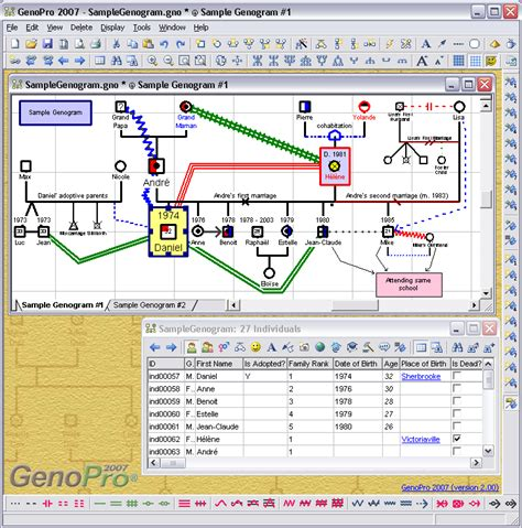 Family Tree Software Draw Your Family Tree Diagram Genopro Genopro Free