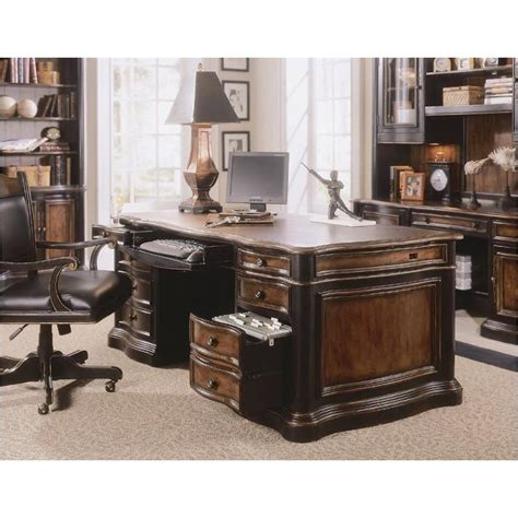 864 10 563 furniture executive desk leather top