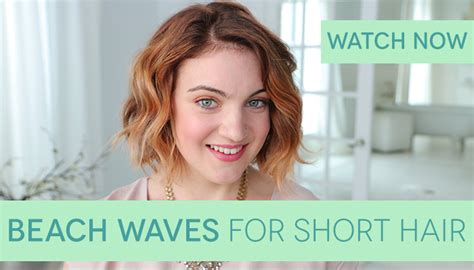 how to get beach waves for short hair with no heat how to get beach waves for short hair