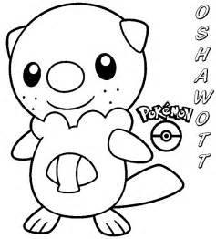 coloring books pokemon oshawott print free download