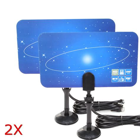 hdtv antenna template 2x digital indoor tv antenna hdtv dtv box ready hd vhf uhf