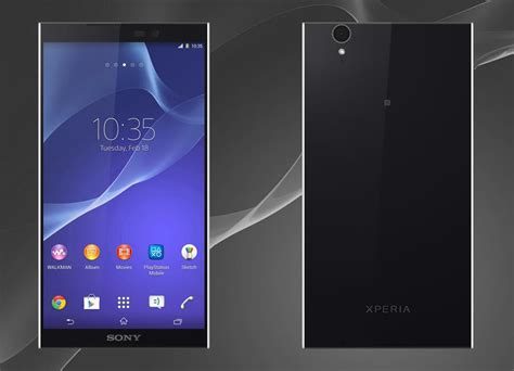Hp Sony Experia Z3 Ultra sony xperia z3 gets rendered with 6 inch 4k display