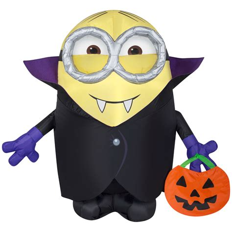 minion bounce house shop gemmy 3 ft x 3 ft lighted minion halloween inflatable at lowes com