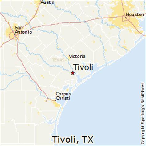 tivoli texas map best places to live in tivoli texas