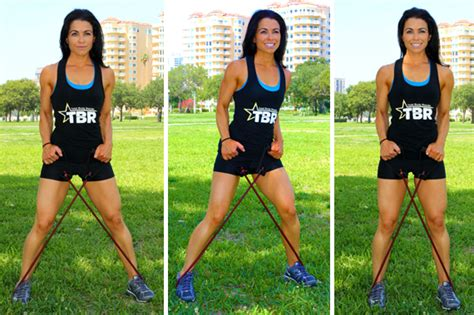 diy resistance bands diy workout with 3 tools you chi